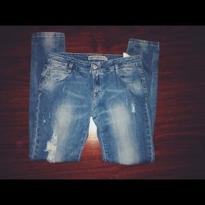 SOLD ripped jeans
